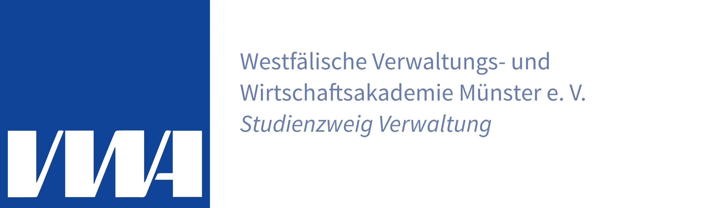 VWA Münster Logo Footer