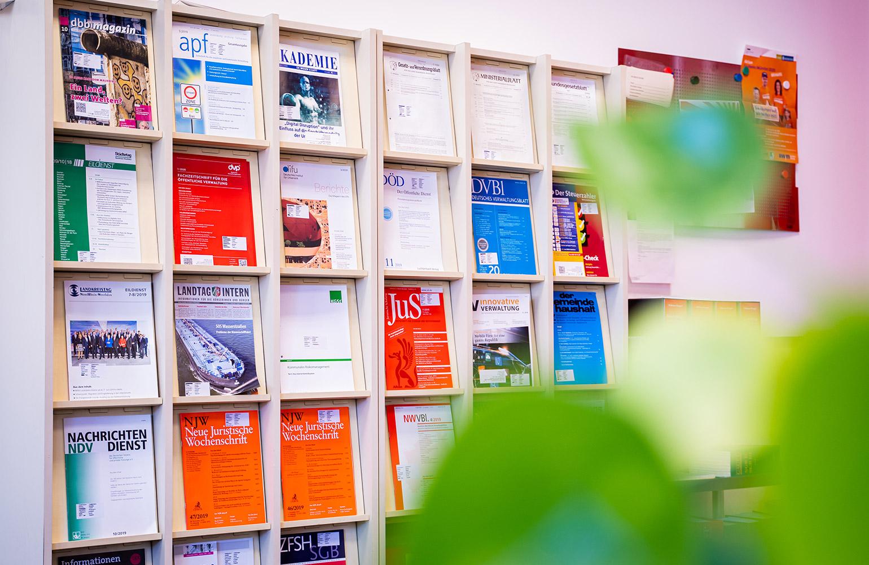 VWA Münster Zeitschriftenleihe