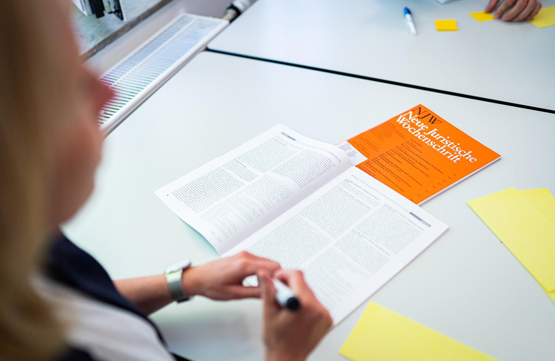 VWA Münster Studenten bei der Gruppenarbeit